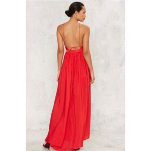 The Jetset Diaries Lotus Dress